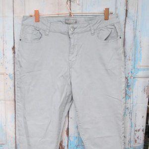 Women's sz 14 Grey Falls Creek Straight Leg Pants